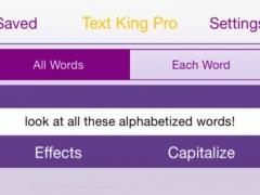 Text King Pro 3.1.3 Screenshot
