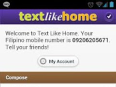 Text Like Home Philippines SMS 1.8.1 Screenshot