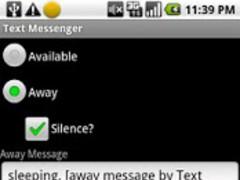 Text Messenger DEMO 1.8 Screenshot