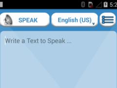 Text Speaker Pro 1.0.2 Screenshot