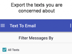 Text to Email 6.2.31 Screenshot