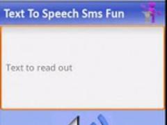 Text To Speech Sms Fun 1.3 Screenshot