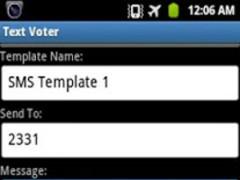 Text Voter 1.3 Screenshot