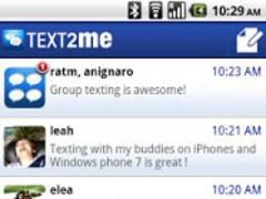 Text2Me - Free SMS 1.6.4.5732 Screenshot