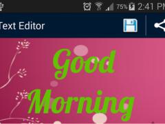 TextArt: Create Fancy 3D Text 1.0 Screenshot