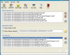 TEXTfromPDF 1.3.2 Screenshot