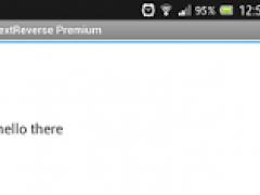 TextReverse + CaesarChiffre 1.0 Screenshot