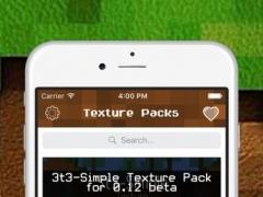 Texture Packs for Minecraft Pocket Edition 1.0 Screenshot