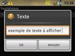 TextWidget 1.0.9 Screenshot