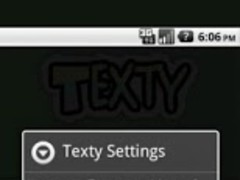 Texty : Free SMS (via Way2SMS) 0.3 Screenshot