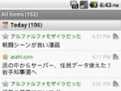 tFeedroid 1.2.0 Screenshot