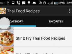 Thai Food Recipes by Thai Chef 2.4 Screenshot