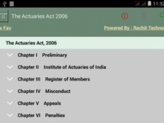 The Actuaries Act 2006 1.00 Screenshot