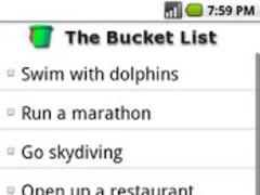 The Bucket List  Screenshot