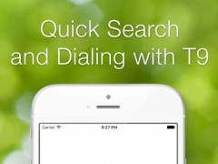 The Call – Fast Contacts Search and Dialing with Unified T9 Keyboard 0.2 Screenshot