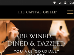 The Capital Grille Concierge 1.5.4 Screenshot