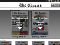 The Courier eEdition 1.0 Screenshot