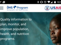 The DHS Program 3.7.0 Screenshot