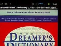 The Dreamers Dictionary (Lite) 1.2 Screenshot