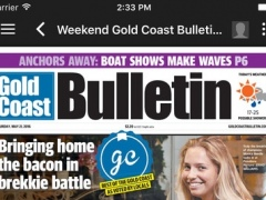 The Gold Coast Bulletin Newspaper Edition for iPad 4.8.4 Screenshot