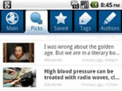 The Guardian Anywhere 2.2.5 Screenshot