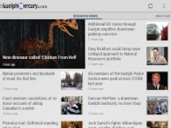 The Guelph Mercury-Tribune 5.0.0.1 Screenshot