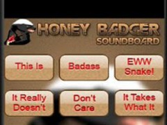 The Honey Badger Soundboard 1 Screenshot