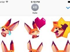 The Little Fox stickers 1.1.0 Screenshot