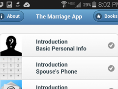 The Marriage App 1.0 Screenshot