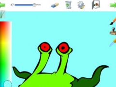 The monsters coloring book 1.2 Screenshot