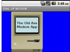 The Old Modem App 1.0 Screenshot