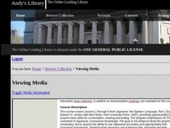 The Online Lending Library  Screenshot