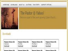 The Pastor @ Yahoo Sermons! 0.3.1298694273 Screenshot