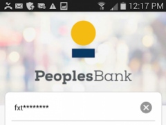 Peoples Bank NC Mobile  Screenshot