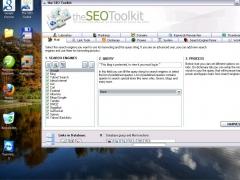 The SEO Toolkit 0.8 Screenshot