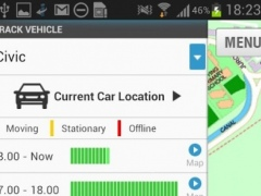 GPS Car Track (SilentCarAlarm)  Screenshot
