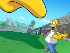 Review Screenshot - Hang Out With the Simpsons and Rebuild Springfield