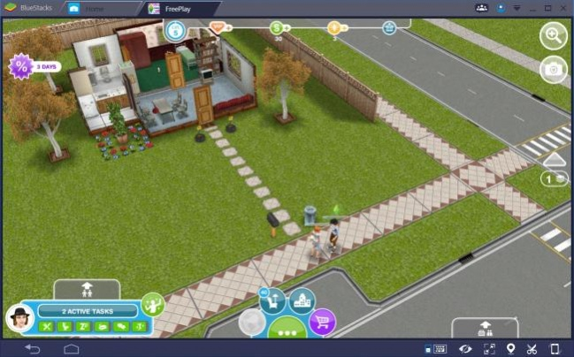 The Sims - socializing