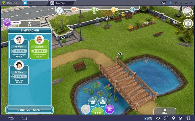 The Sims - Sims off to work means time out for you