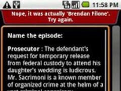The Sopranos - QuoteTrivia 1.0 Screenshot