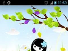The Swing Live Wallpaper 12.0.0 Screenshot