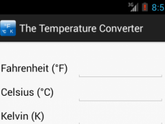 The Temperature Converter 1.4 Screenshot