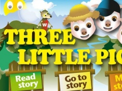 The Three Little Pigs - Interactive Fairy Tale for Kids 1.1 Screenshot