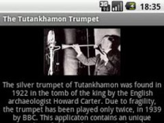 The Tutankhamon Trumpet 1.1 Screenshot