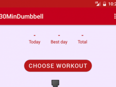 The Ultimate Dumbbell Workout 1.0 Screenshot