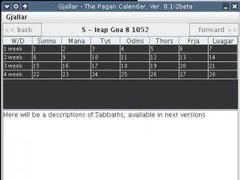 The Viking Calendar 0.1-4b Screenshot