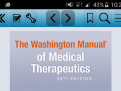 The Washington Manual of Med 2.3.2 Screenshot