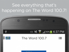 The Word 100.7 3.0.7 Screenshot