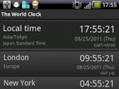 The World Clock Free 3.3.3 Screenshot