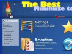 The-Best Minimieren-ins-Tray 1.14 Screenshot